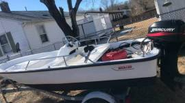 13 Boston Whaler with Mercury engine