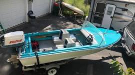 16' aluminum boat 1962 duratech neptune