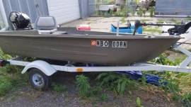 Sportsman Fishing Boat