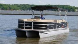 2014 Harris FloteBote Grand Mariner SEL 250