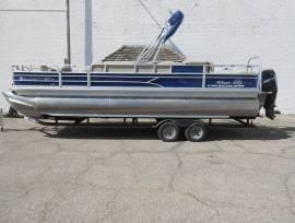 2017 Sun Tracker Fishin Barge 24 Tritoon