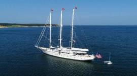1983 Palmer Johnson Tri-Masted Staysail