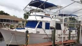 1984 Present Yachts Sundeck Trawler